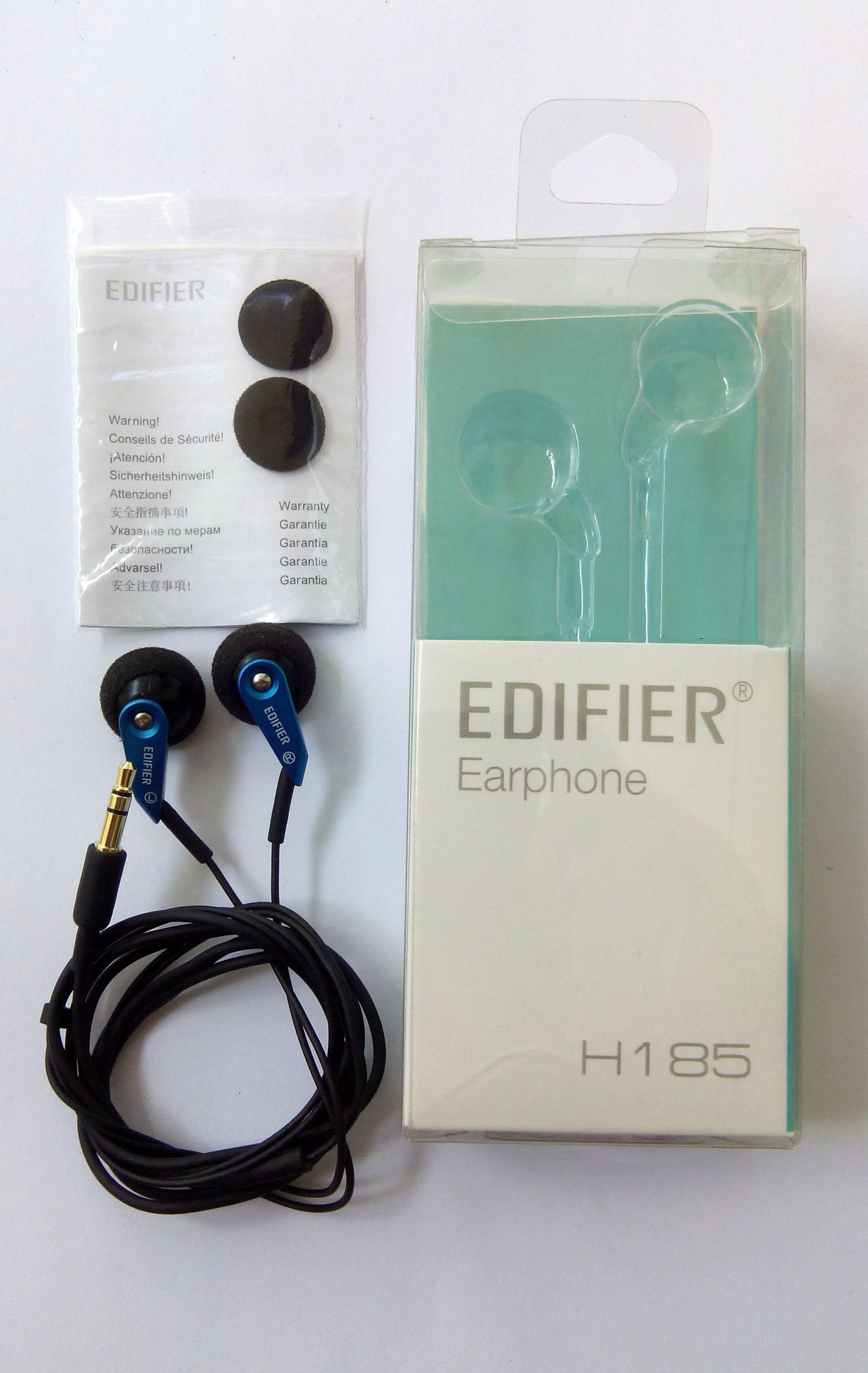 Unboxing Edifier H185