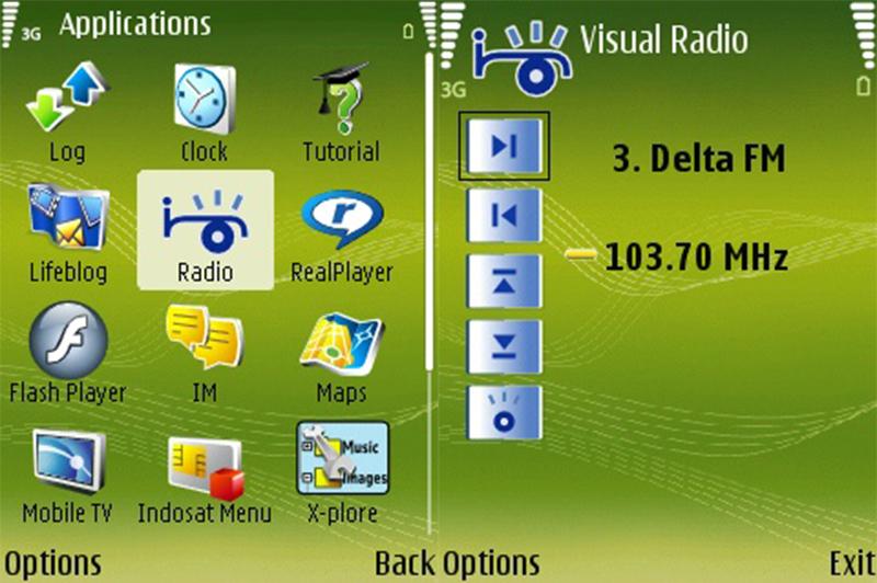 Nokia N73 on Radio